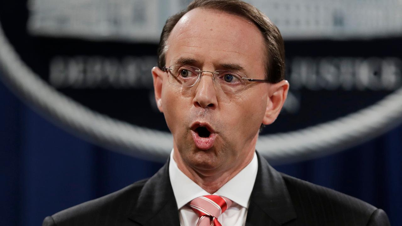 End of the road: Deputy Attorney General Rod Rosenstein to leave DOJ after attorney general confirmed