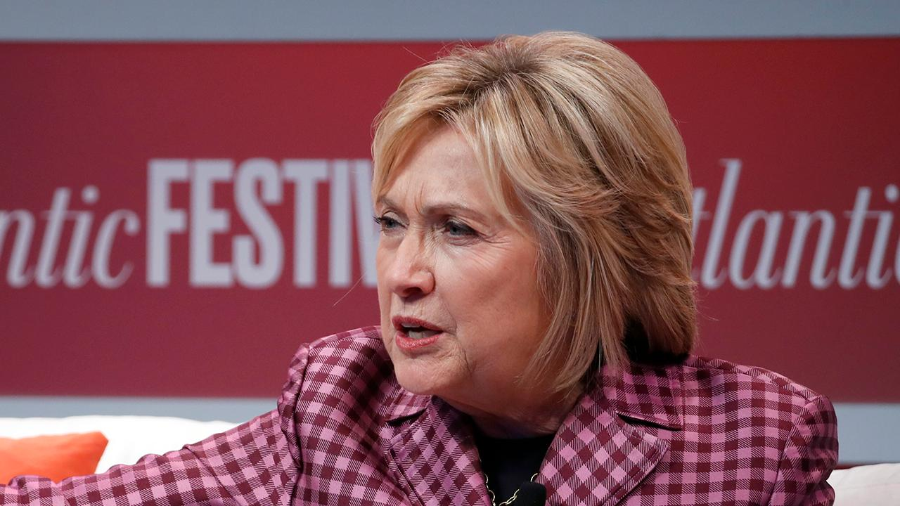 Hillary Clinton gives advice to 2020 Democrats on how to talk about the environment