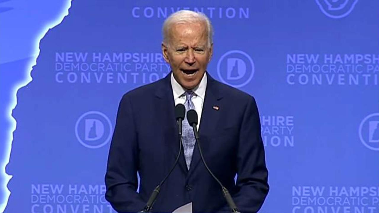 Biden campaign blames bad press on reporters' ages