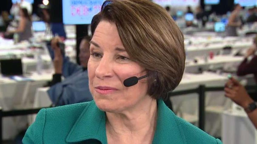 Klobuchar: I want to be the president for all of America